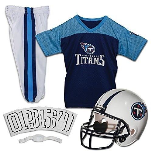 8b4058777 Tennessee Titans Jersey Youth Uniform Set NFL Football Helmet Kid Costume  Large  FranklinSports  TennesseeTitans