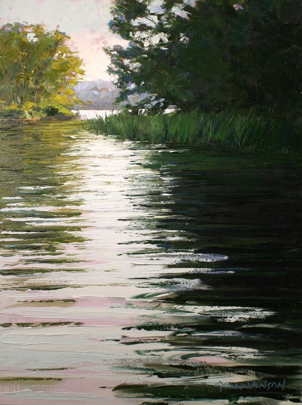 Creating A Landscape With A Palette Knife Demonstration Art Paysagiste Peinture Paysage Paysage Pastel