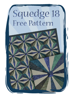 Phillips Fiber Art: Squedge 18 Free Pattern