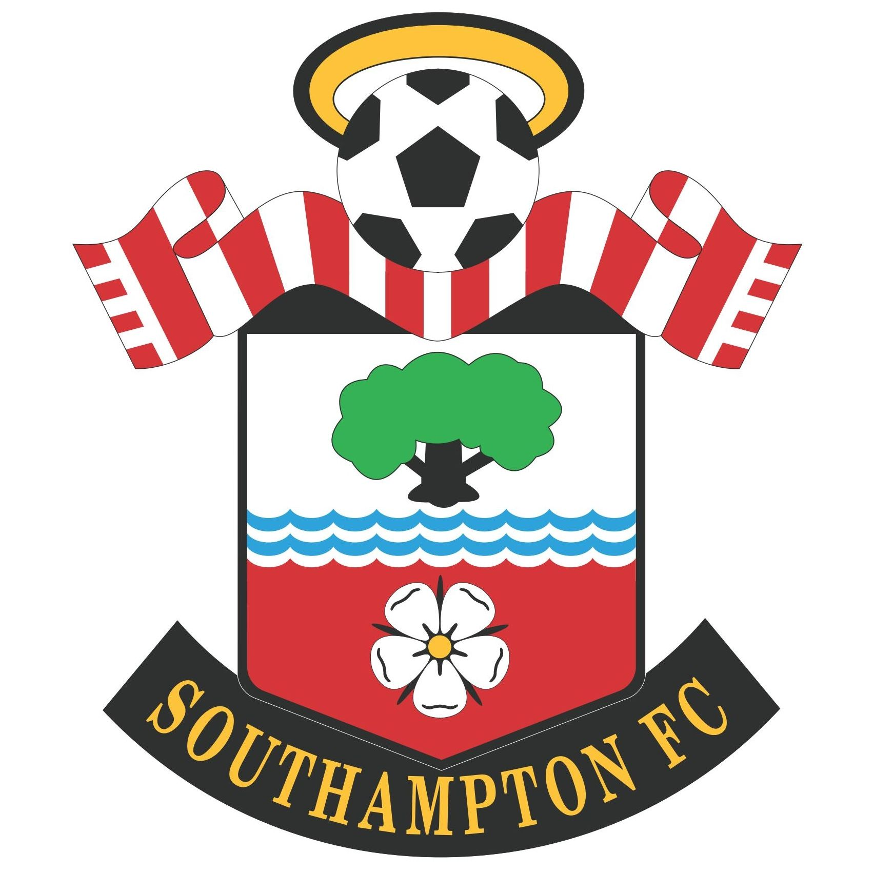 Southampton Football Club Logo Vector Free Logo Eps Download Sepak Bola Pejuang Chelsea