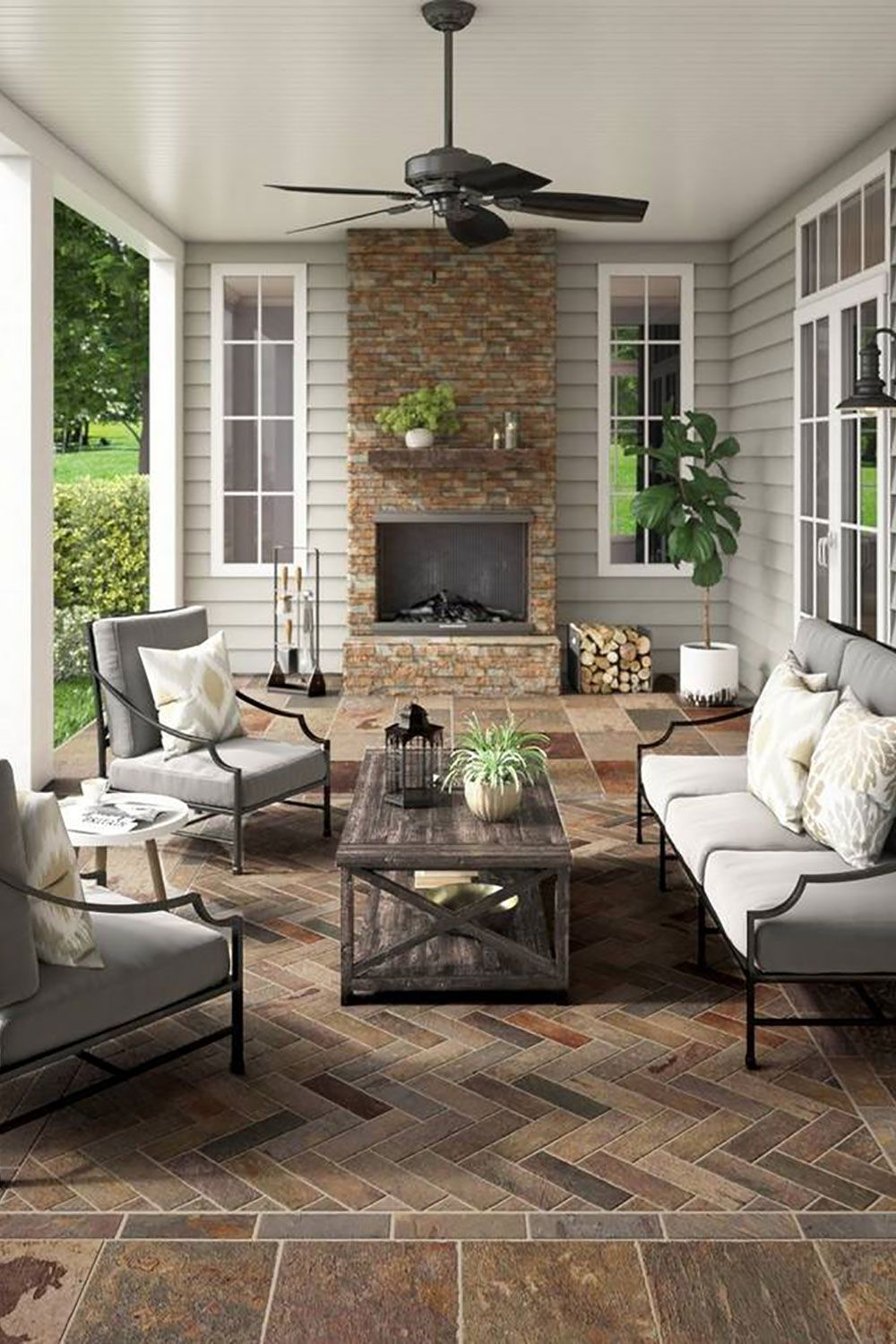 Buying Guide Shop For Stone Outdoor Living Space Home Outdoor Patio Decor