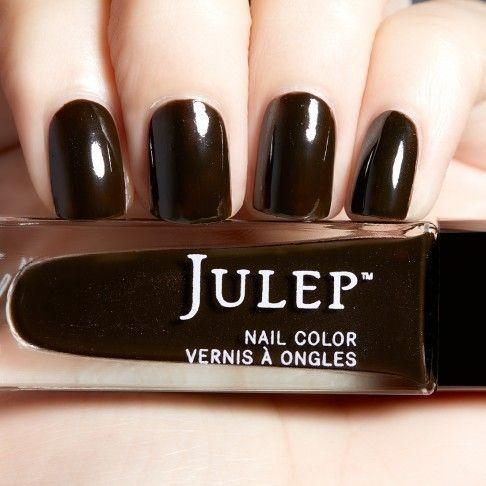 Julep Skylla Boho Glam October 2016 Black Coffee Ghost Shimmer