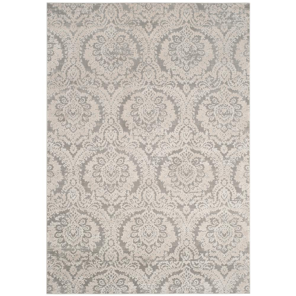 Safavieh Princeton Silver Beige 2 Ft X 10 Ft Runner Rug Prn717b 210 The Home Depot Vintage Style Rugs Area Rugs Polyester Rugs