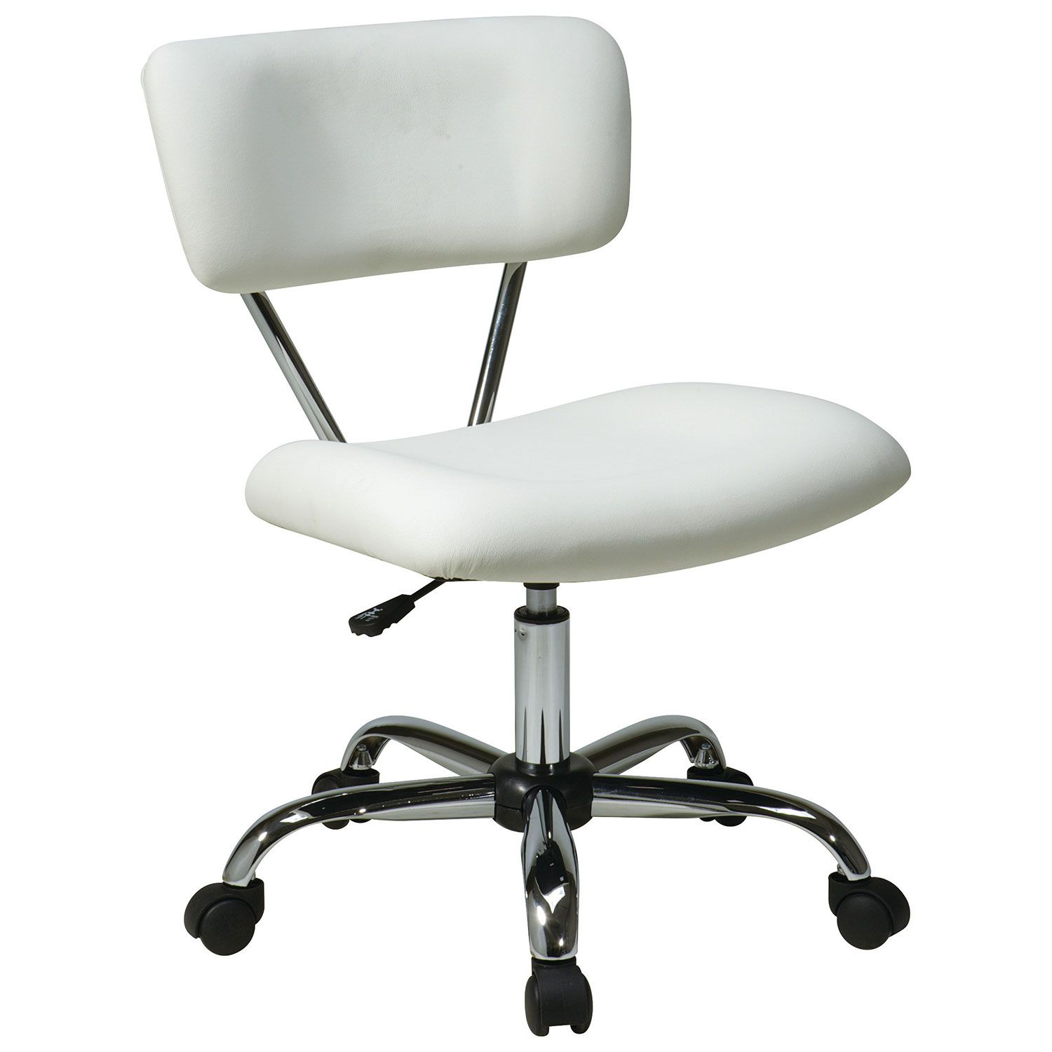 Incredible Avenue Six Vista Vinyl Office Chair White Online Only Gmtry Best Dining Table And Chair Ideas Images Gmtryco