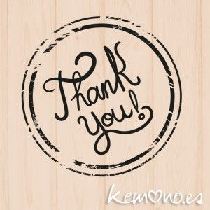 Sello Boda thank you