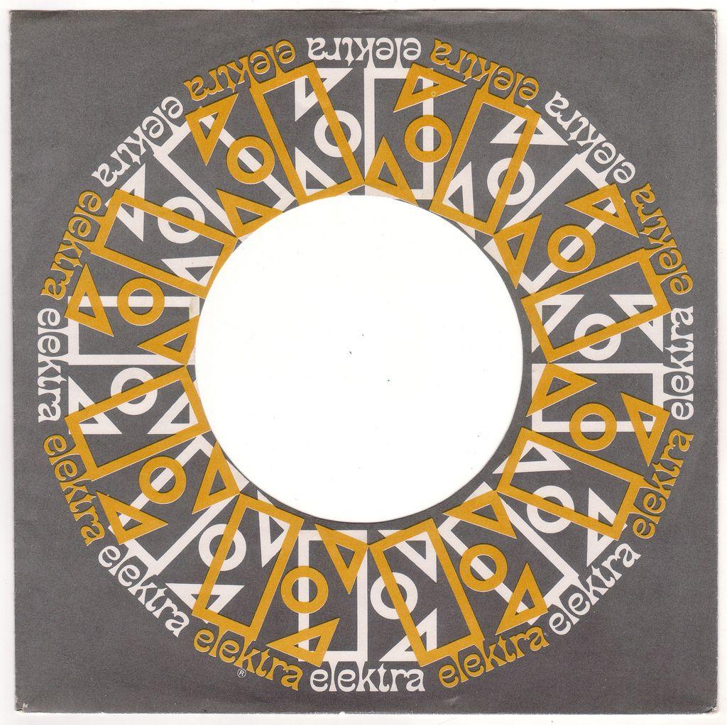 1960s Elektra Records 45 Rpm Record Sleeve Vinyl Junkies Album Covers Vinyl Cover