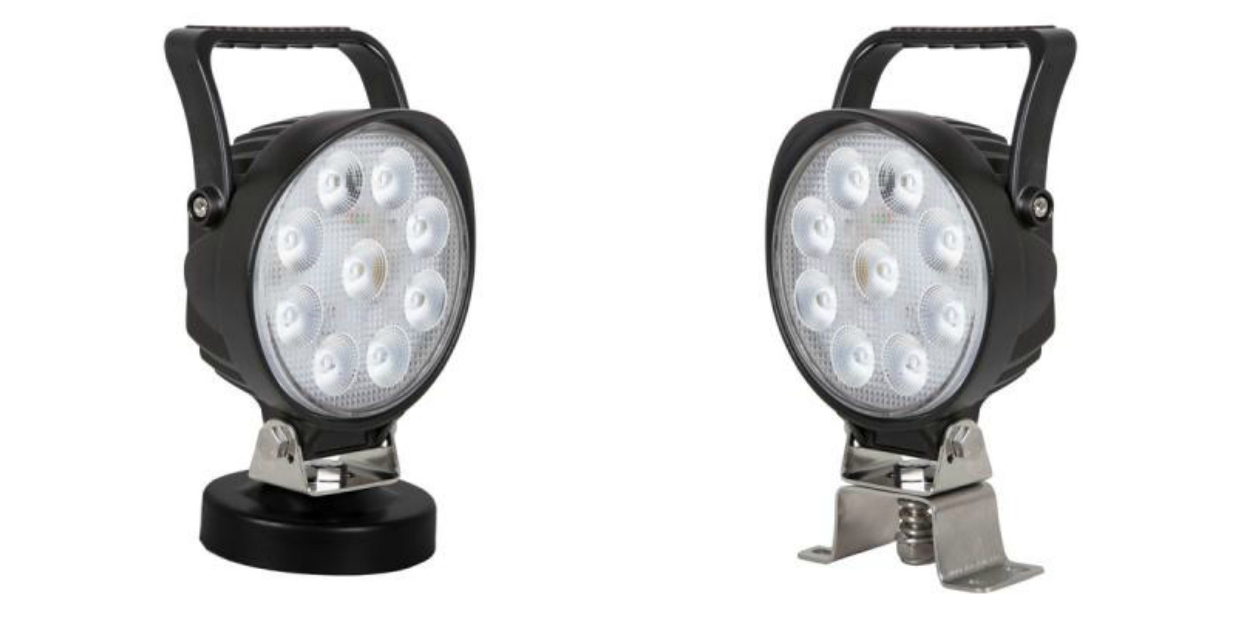 The New Mwl 36 Surface Mount The Mwl 37 Magnetic Mount Both With On Off Switch Work Lights Led Work Light Mounting