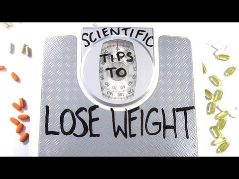 Scientific Tips To Lose Weight!