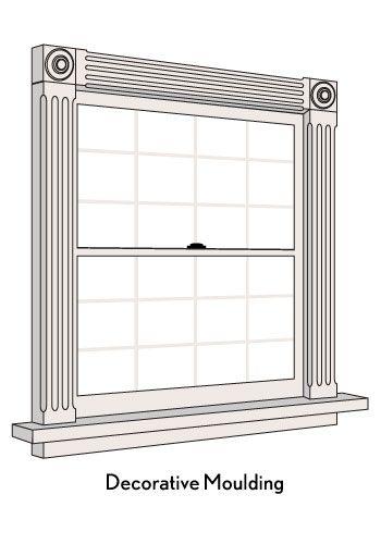 Love Moulding Around Windows Window Frame Decor Window Molding