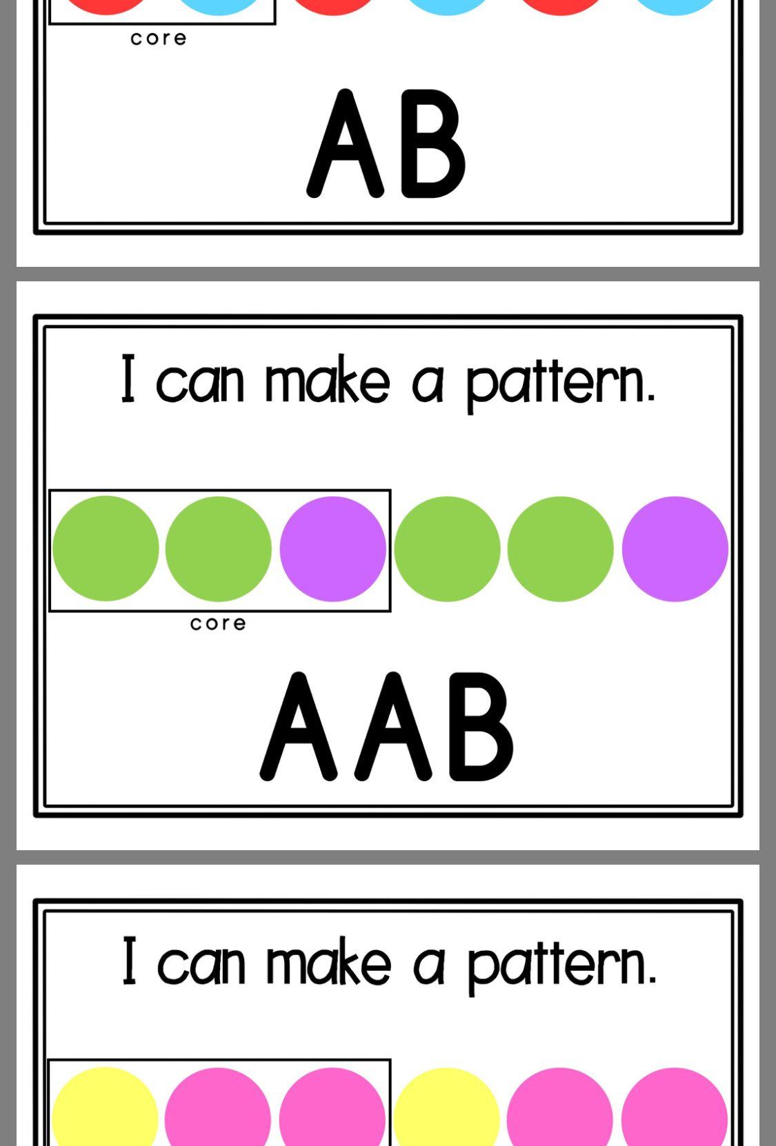 Pattern Activity Pattern Activities Kindergarten Preschool Pattern Activities Math Patterns [ 1662 x 1125 Pixel ]