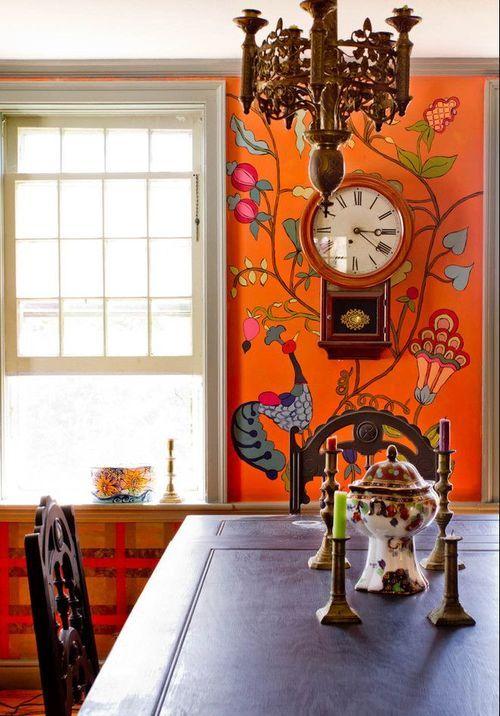 chasingthegreenfaerie:  Keltainen talo rannalla: Värikäs koti