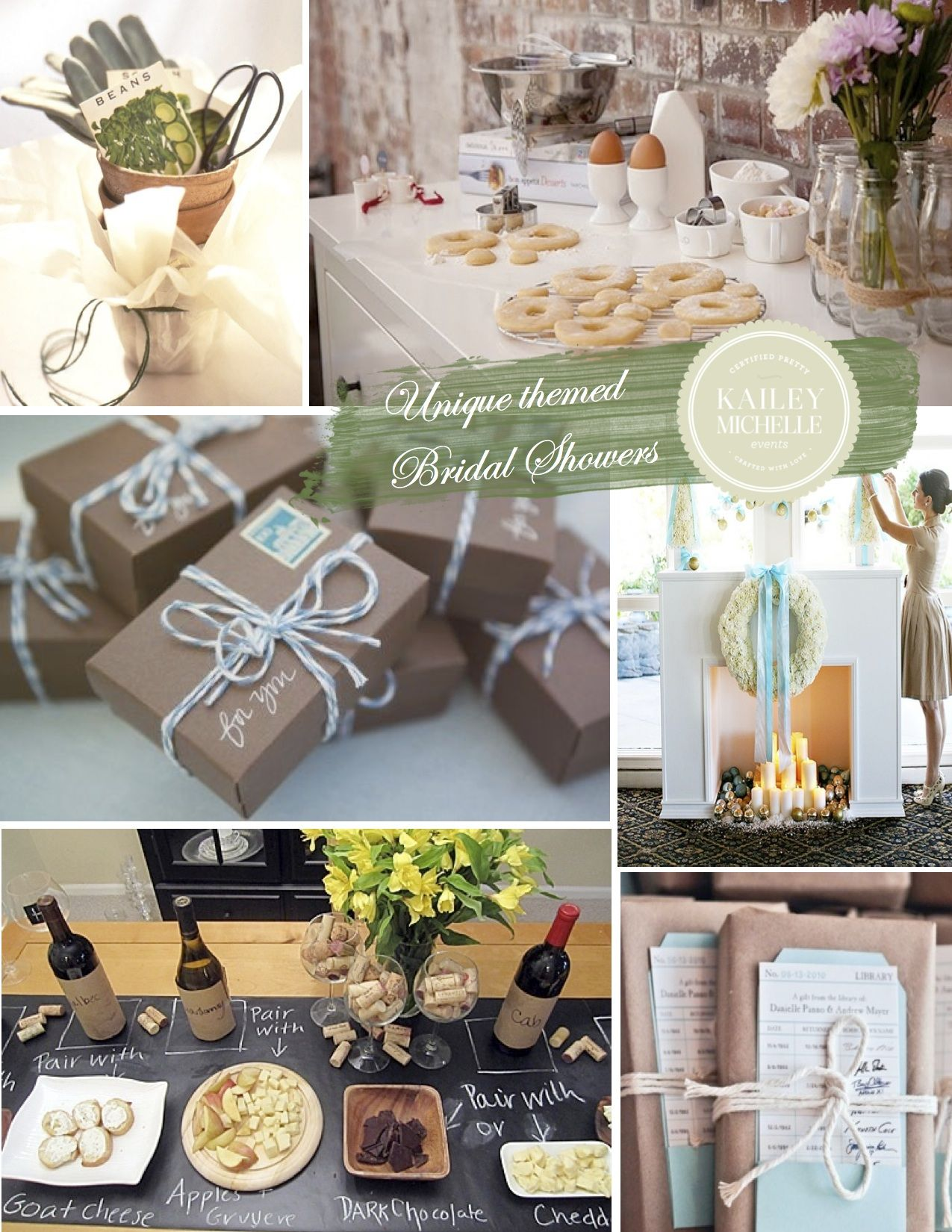 bridal shower ideas 6 unique personalized themes
