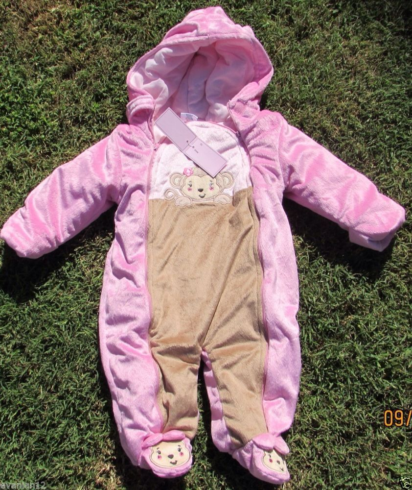 e6ad94b04fbd Bunting Infant size 12 months baby North Girl face NEW Nordstrom ...