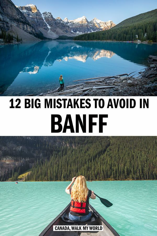 12 Big mistakes to avoid in Banff — Walk My World