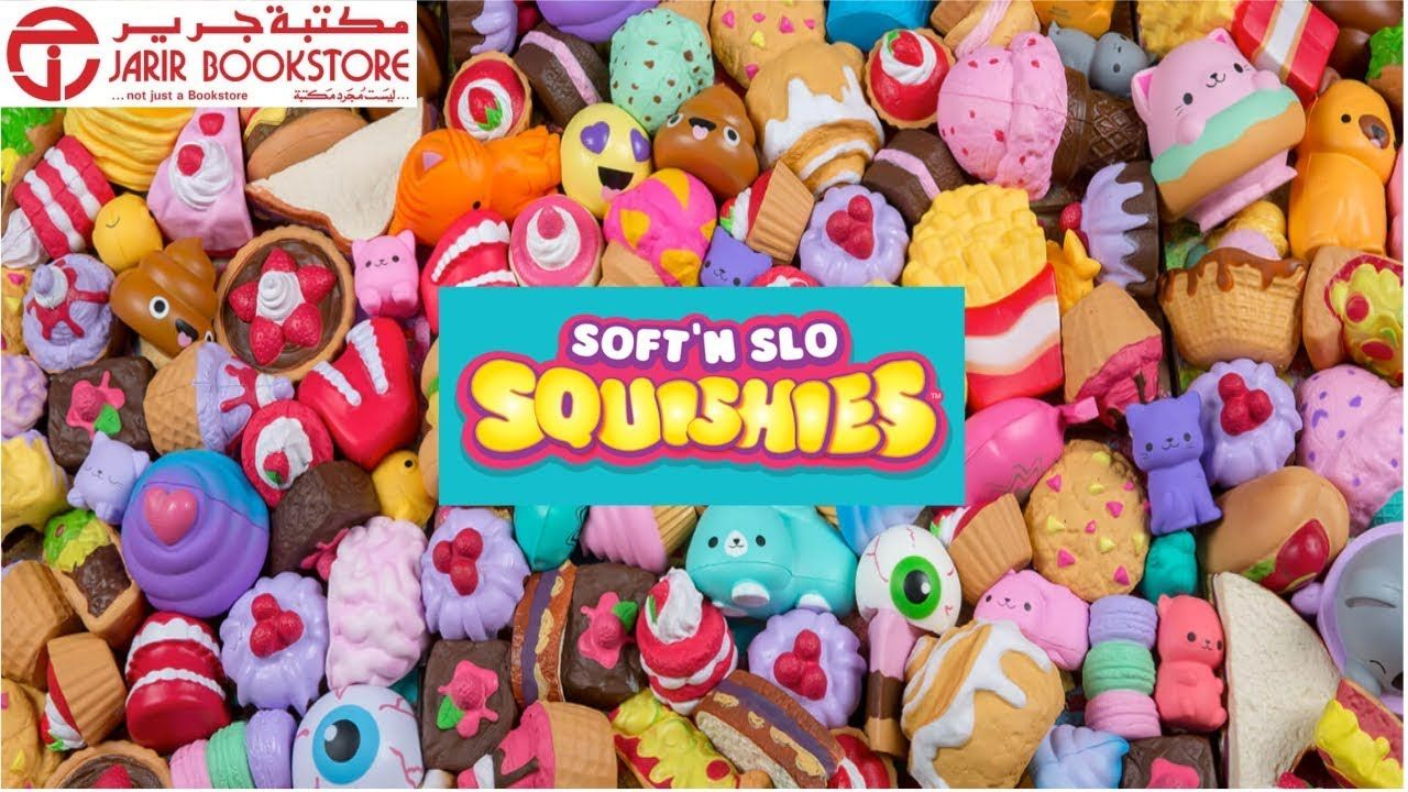Soft N Slo Squishies In Jarir Bookstore Jeddah سوفت آن سلو سكويشيس م Squishies Sugar Cookie Soft