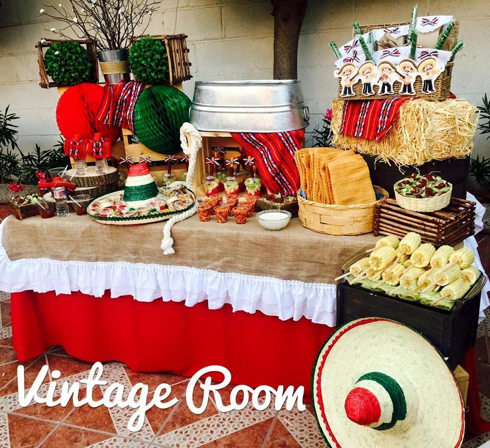 Decoraci n mexicana fiestas patrias decoraci n de for Decoracion mexicana
