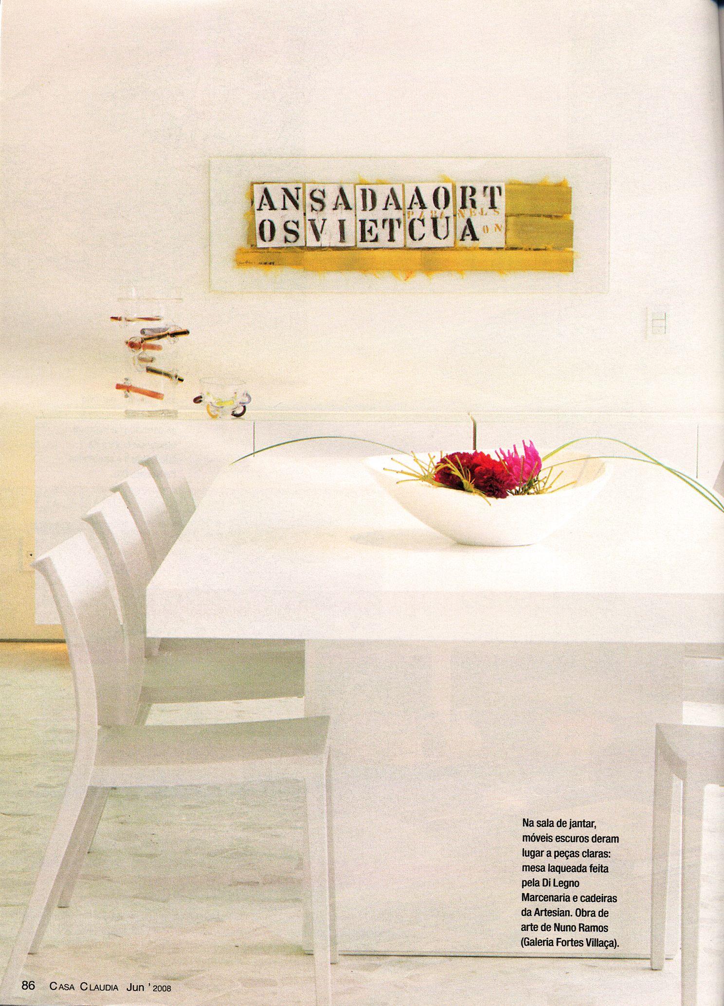 Projeto Masscá - Residencia Unifamiliar   sala de jantar/dinner room
