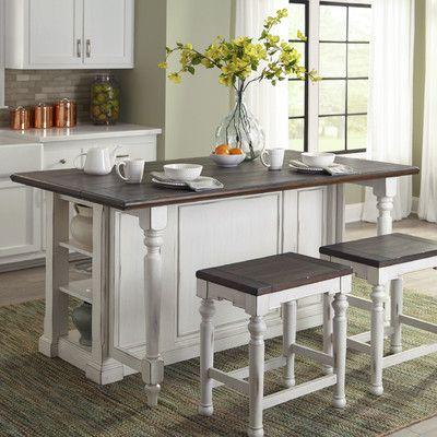 Fresh island Style Kitchen Table