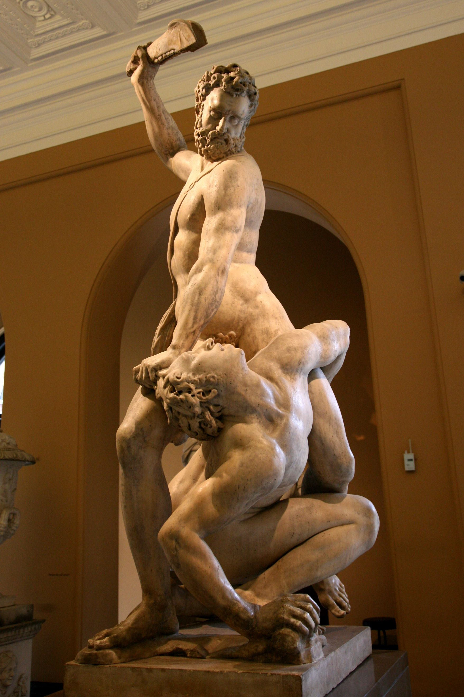Image result for samson slaying a philistine sculpture
