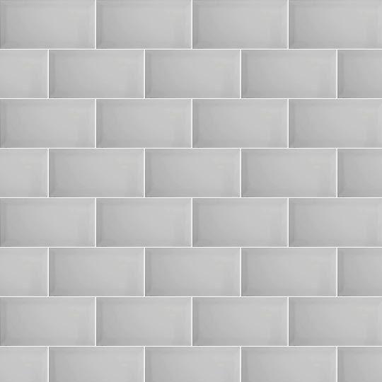 breathtaking brick wall tiles bathroom | Gris Biselado Brillo is a bevel edge, light grey brick ...