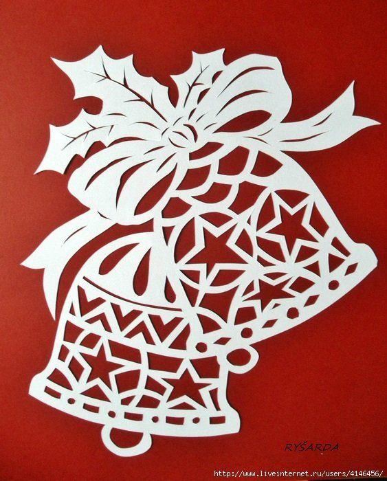 Картинки новогодних украшений из бумаги