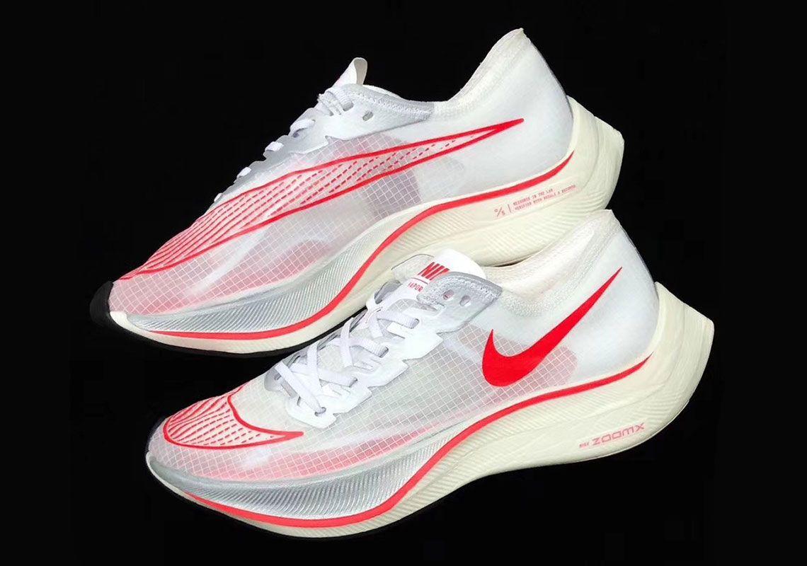 Cardenal Huérfano Quagga  Nike Zoom Vaporfly 5% Volt White University Red Release Info    SneakerNews.com   Nike, Nike zoom, Nike outfits