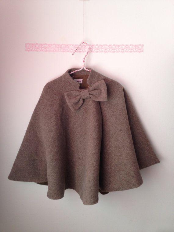 11b39be5555d Little cape for girls Coat girl...Baby Girl Jacket.. Little Girl ...