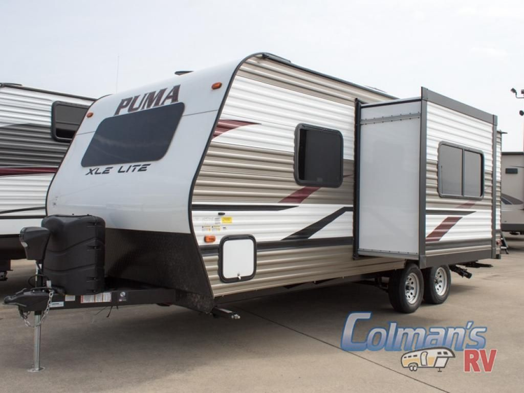 New 2019 Palomino Puma Xle Lite 21fbc Travel Trailer At Colman S