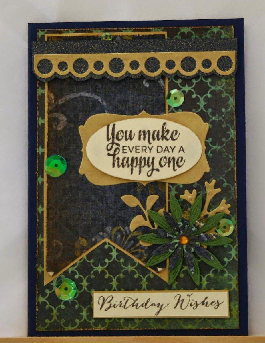 paper pleasure viva la verve 1  handmade birthday cards