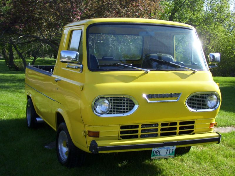 Rare 1965 Mercury Econoline Pick Up Canadian Ford Built With