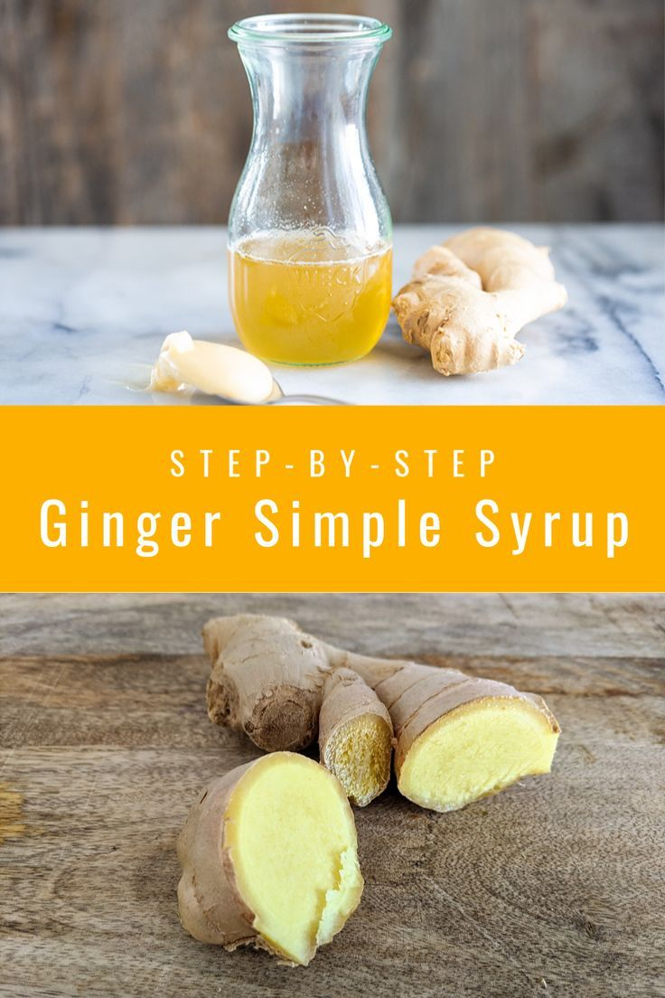 How to Make Ginger Simple Syrup The Kitchen Magpie