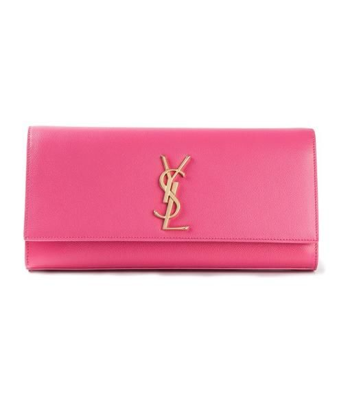 SAINT LAURENT 'YSL' clutch