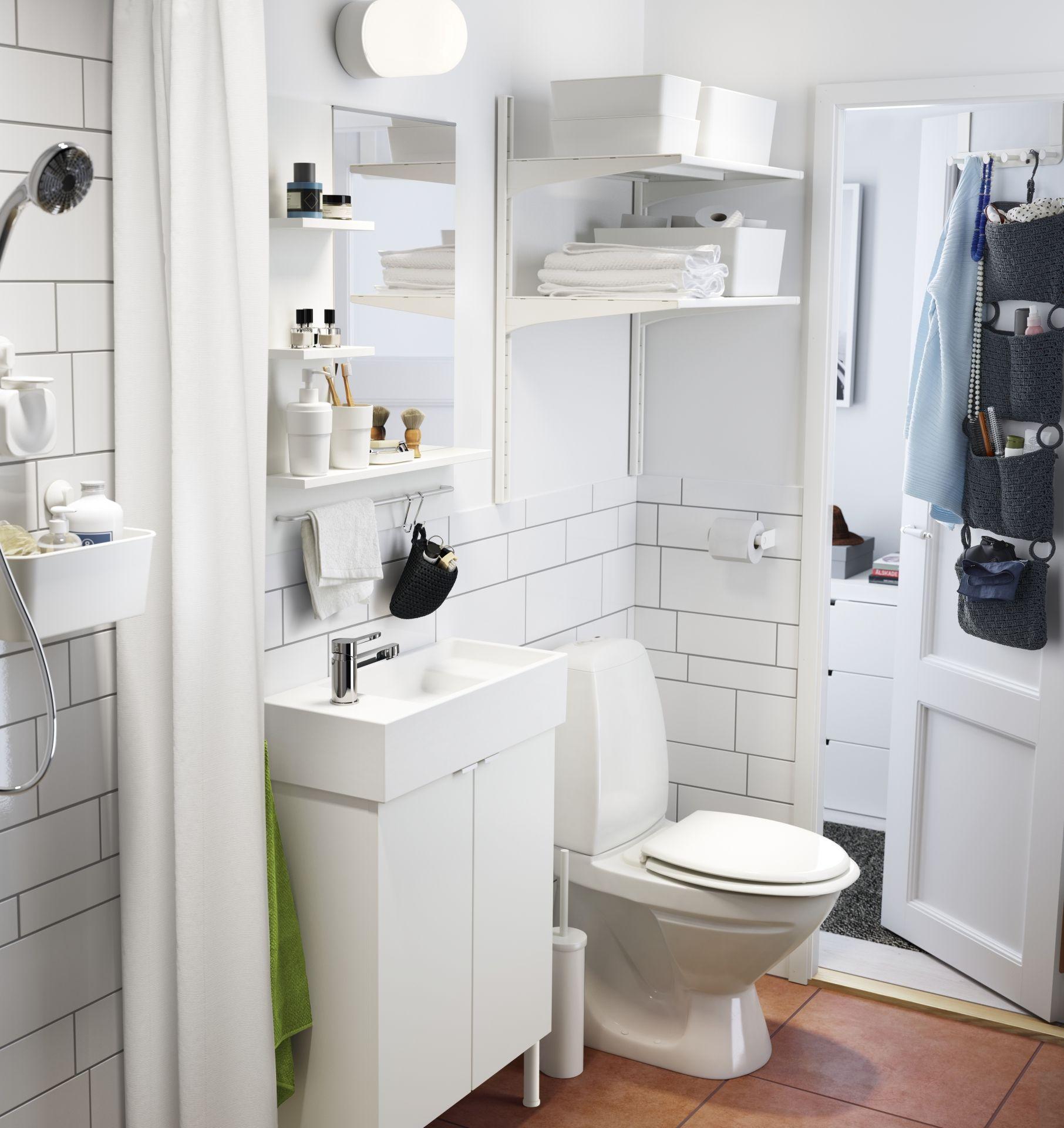 Frische Einrichtungsideen Und Erschwingliche Mobel Ikea Badezimmer Kleines Bad Waschbecken Ikea Waschbecken