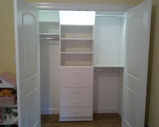 Best 25 small closet makeovers ideas on pinterest organizing small closets small master - Small bedroom closet design ideas ...
