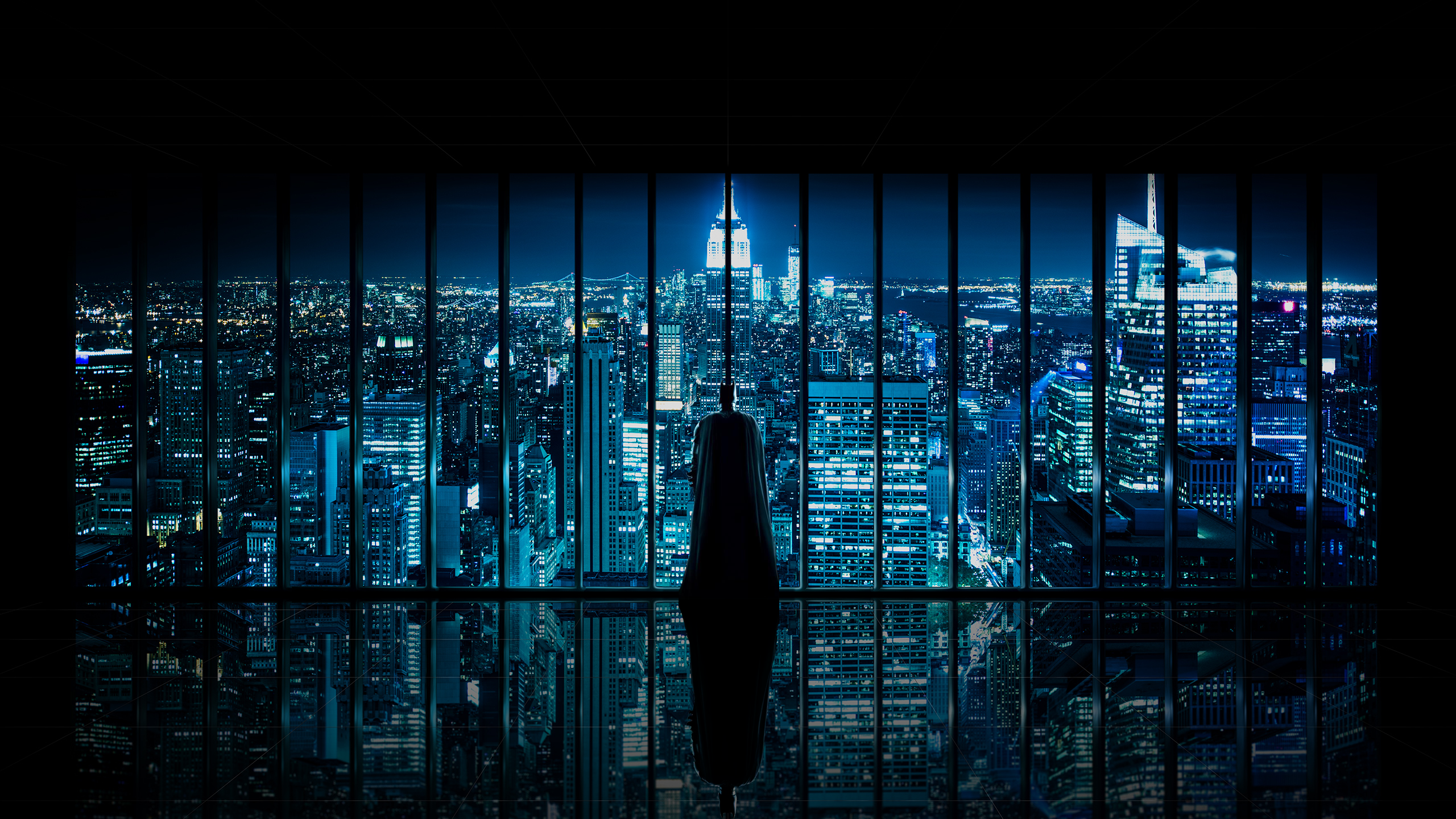 Window To Gotham Oc 2560x1440 Wallpapers In 2019