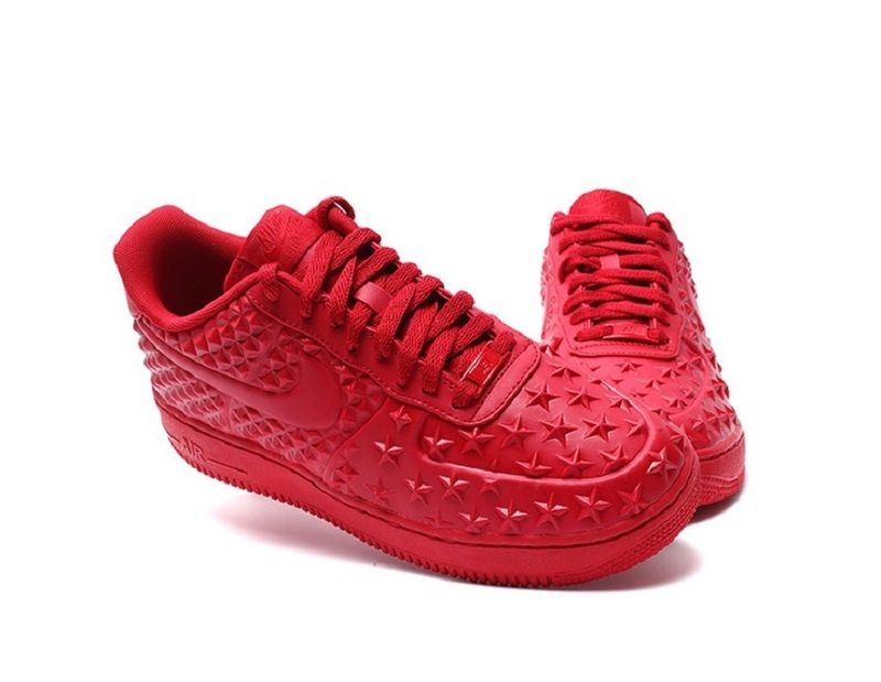 nike air force one lv8 vt red sports