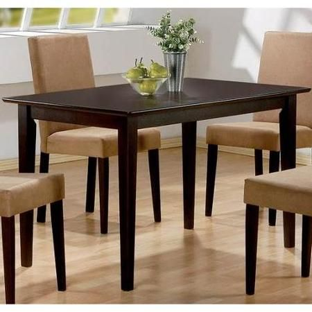Coaster Company Clayton Dining Table  Walmart $126 Pleasing Dining Room Tables Walmart 2018