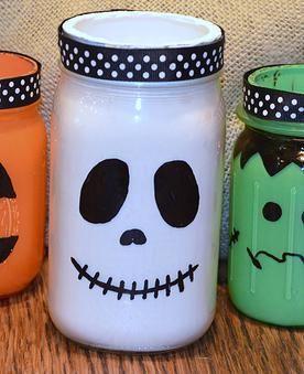 Neat Little Nest Halloween Mason Jars
