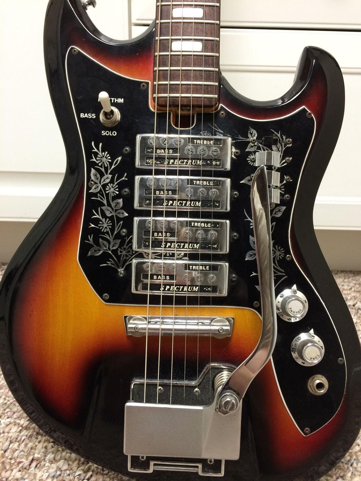 small resolution of teisco et 440 vintage japanese guitar ebay