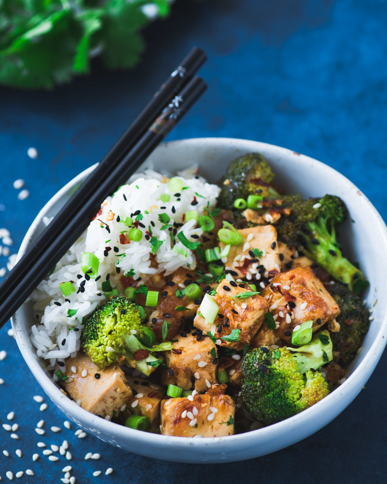 Chinese Takeout Style Tofu And Broccoli Recipe From The Vegan Instant Pot Cookbook Rainbow Plant Life Instant Pot Cookbook Broccoli Recipes Vegan Instant Pot Recipes