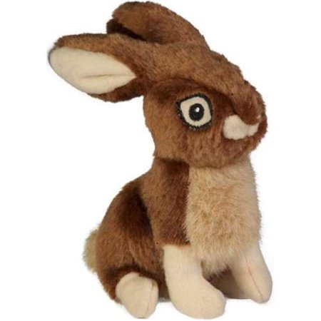 Godog Wildlife Rabbit With Chew Guard Technology Durable Plush