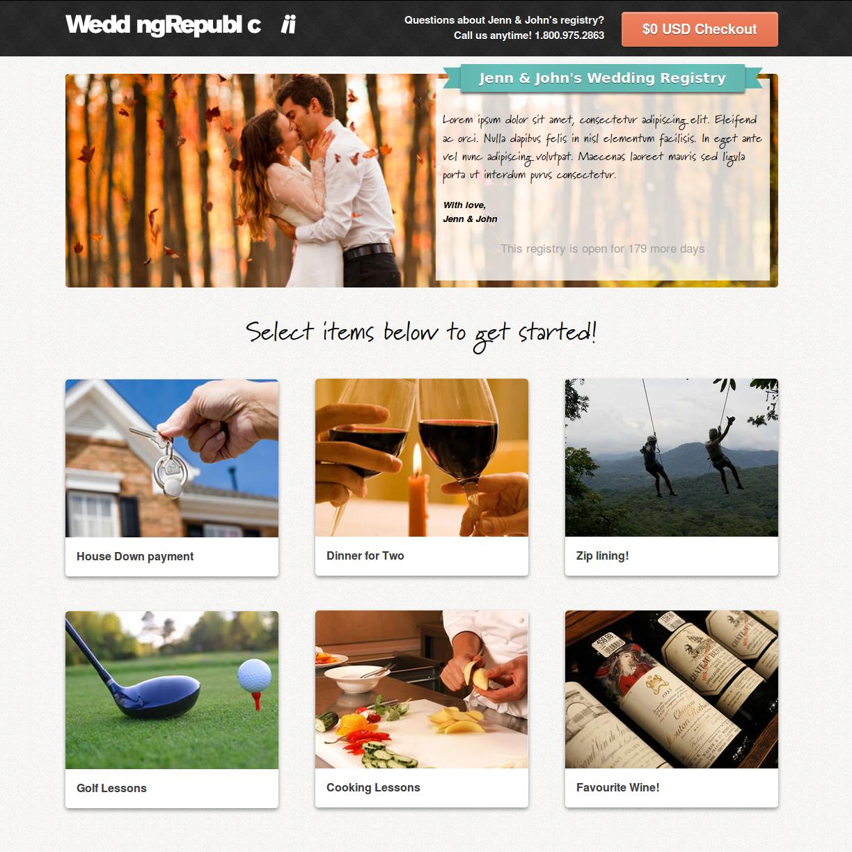 7 Must Have Wedding Registry Gifts Via Weddingrepublic Com Online Wedding Registry Wedding Gift Registry Cash Wedding Registry