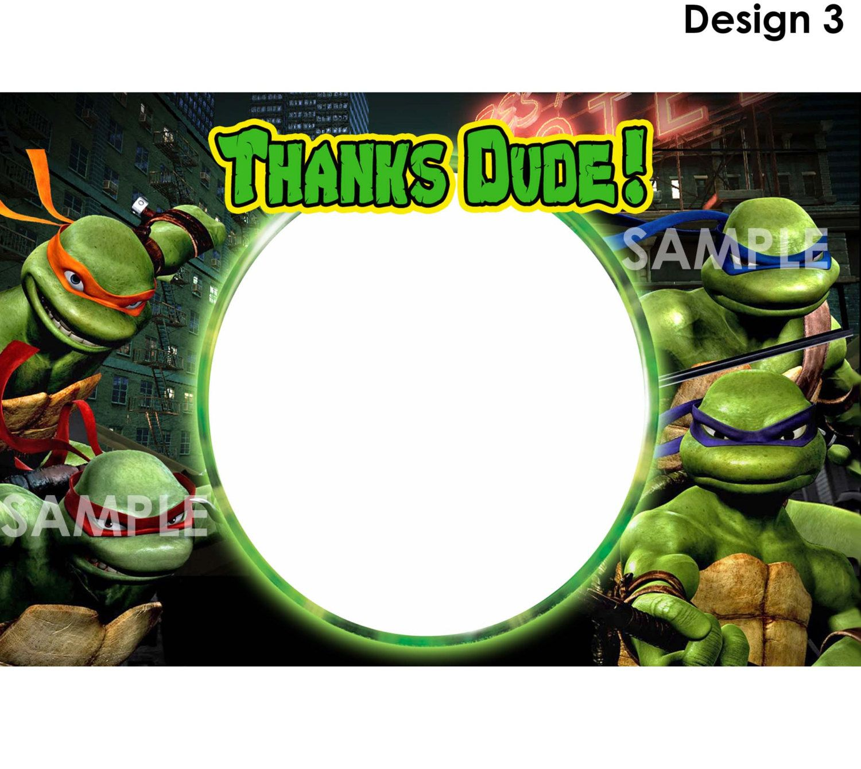 Popular Items For Ninja Turtle Invite On Etsy