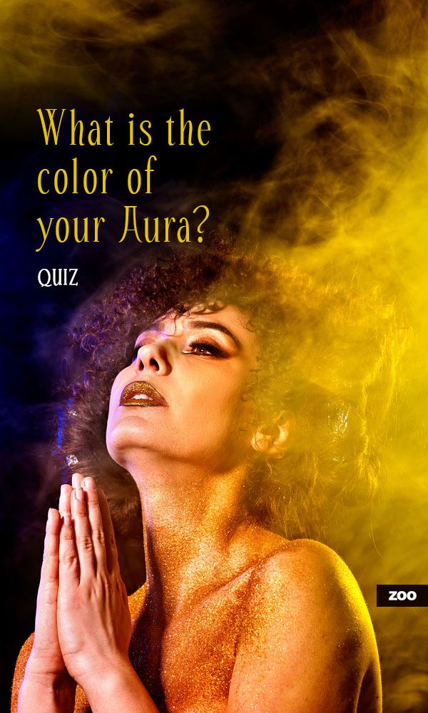 What is the color of your Aura? | New Age | Color quiz ...