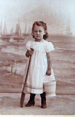 Little Girl By The Seaside