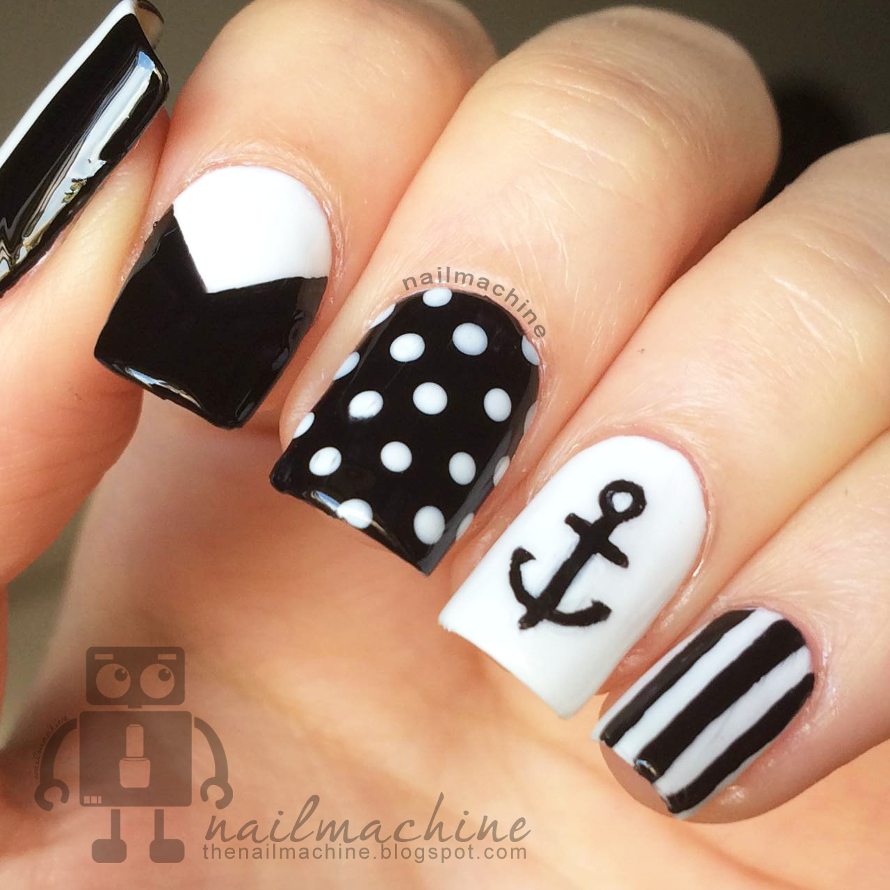 cute-nail-designs-with-anchors-the-nailmachine-awesome - - Cute-nail-designs-with-anchors-the-nailmachine-awesome - Cute