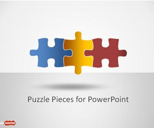 Free Puzzle Pieces For Powerpoint Is A Free Puzzle Template For