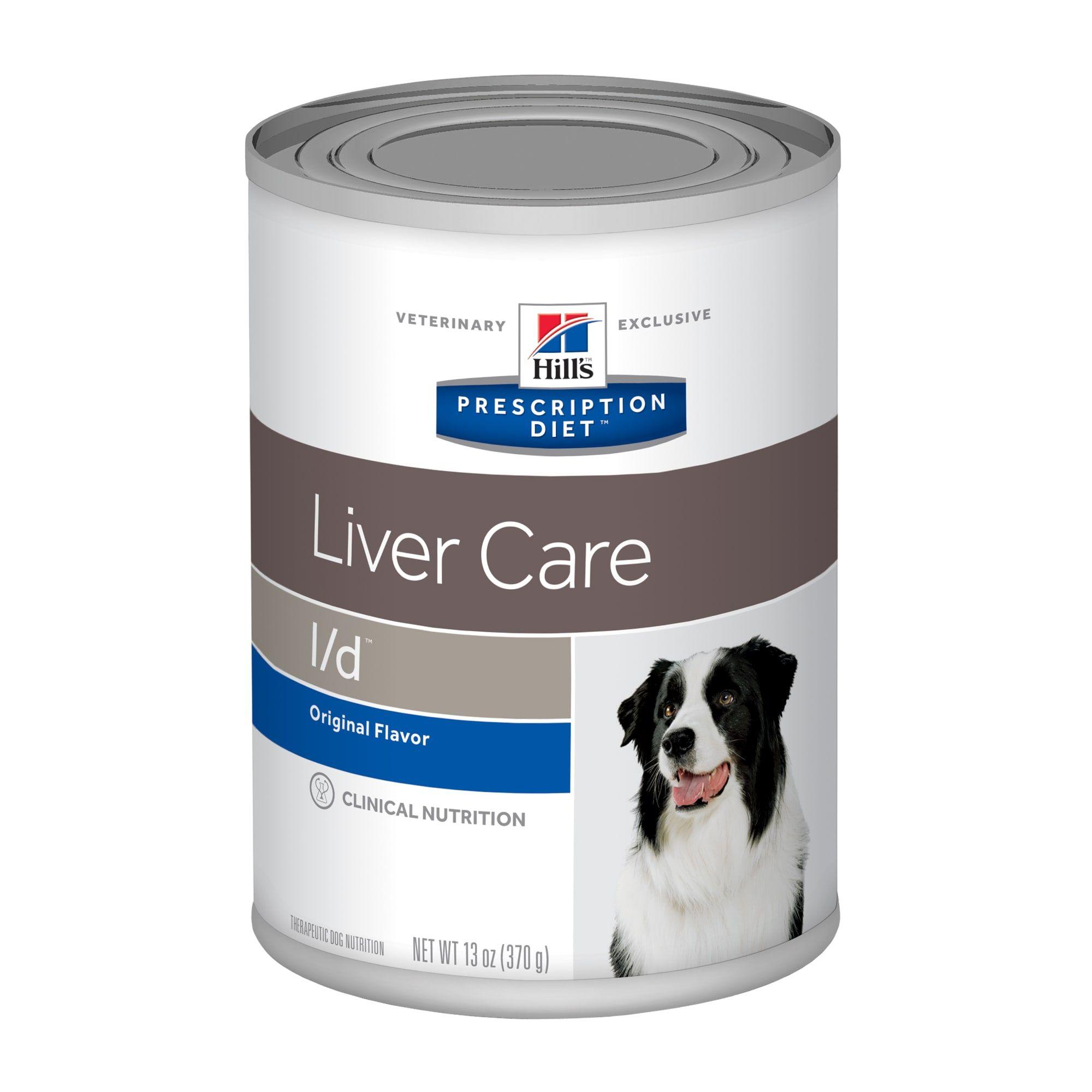 Hill S Prescription Diet L D Liver Care Original Canned Dog Food 13 Oz Case Of 12 12 X 13 Oz Dog Food Recipes Food Animals Canned Dog Food