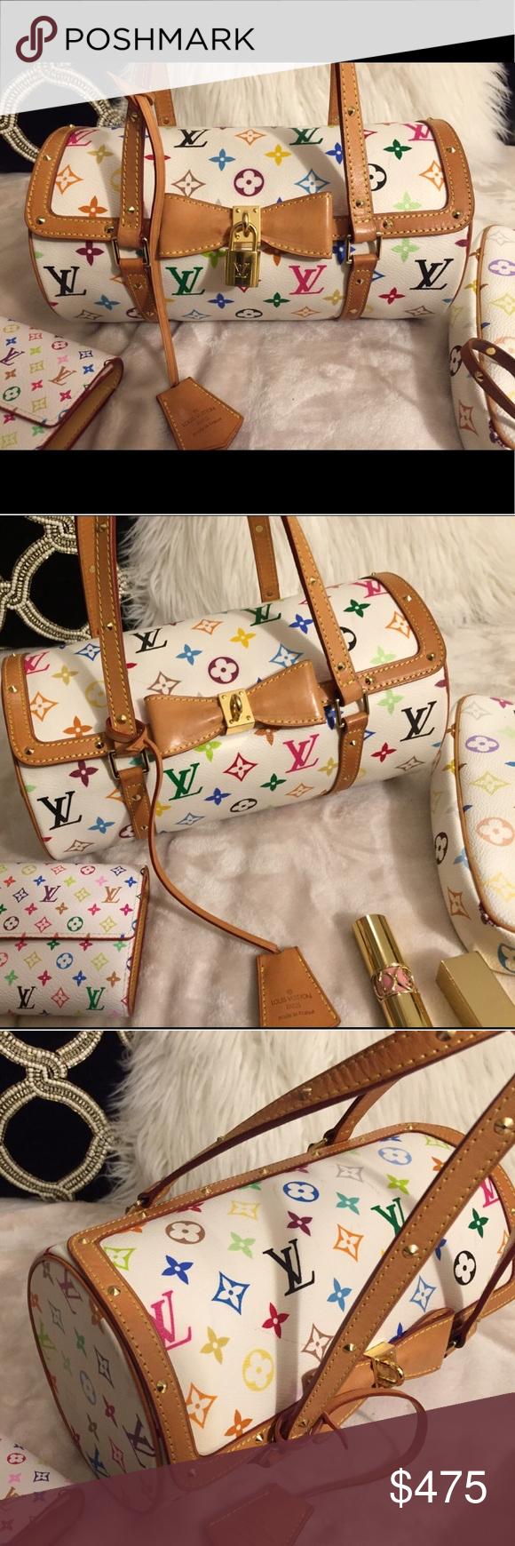 3180c13833 Louis Vuitton multicolore papillon 🎀 Gorgeous GORGEOUS Louis Vuitton  multicolore papillon bag 🎀This bag is