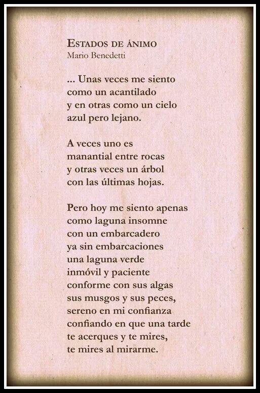 Benedetti Frases Quotes Poetry Y Love Quotes